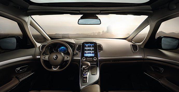 Dashboard Renault Espace