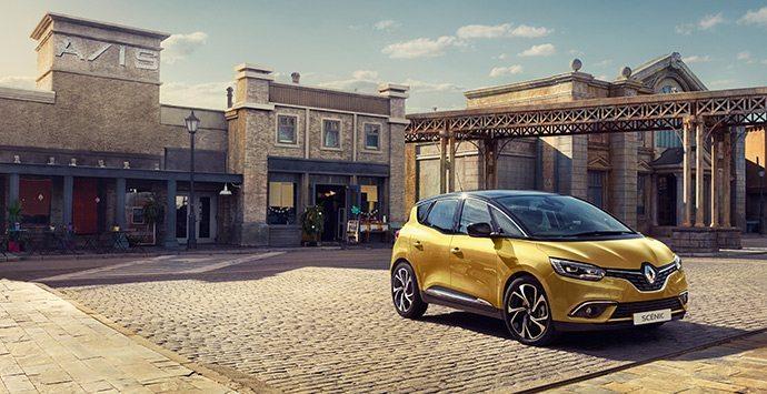 Renault SCÉNIC zijkant