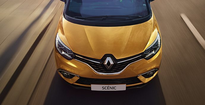 Voorkant Renault SCÉNIC