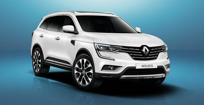 Nieuwe Renault Koleos actie